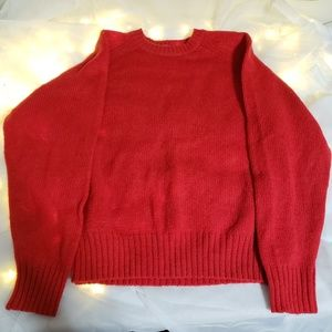 Vintage the fox collection 100% wool sweater